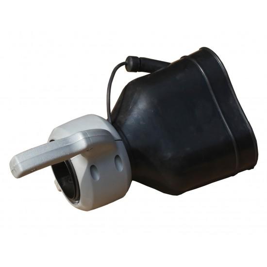 Išmetamųjų dujų ištraukimo antgalis  100 mm CAE-107-100