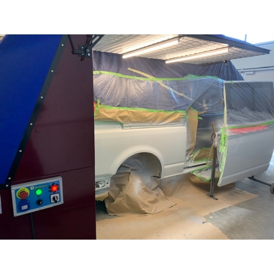 Mobili dažymo kabina Ikotec Eklipse