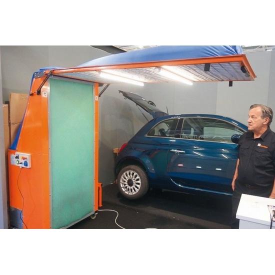 Mobile painting booth Ikotec Eklipse