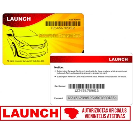 Oficialūs LAUNCH 1 metų atnaujinimai CRP229 prietaisams