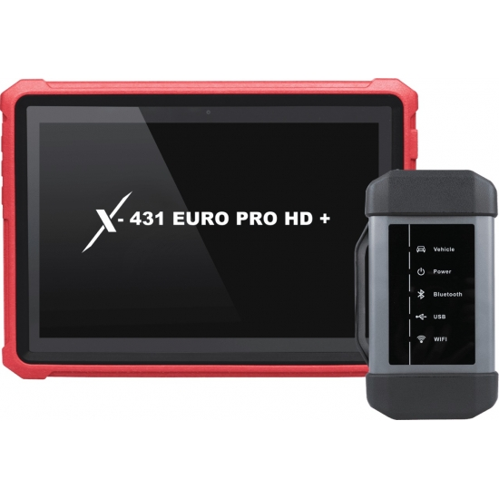 Truck diagnostics LAUNCH X-431 EURO PRO HD +