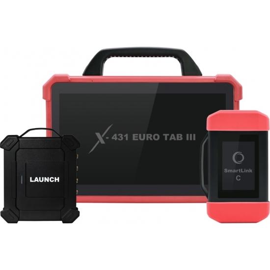Universali diagnostikos įranga Launch X-431 Euro Tab III