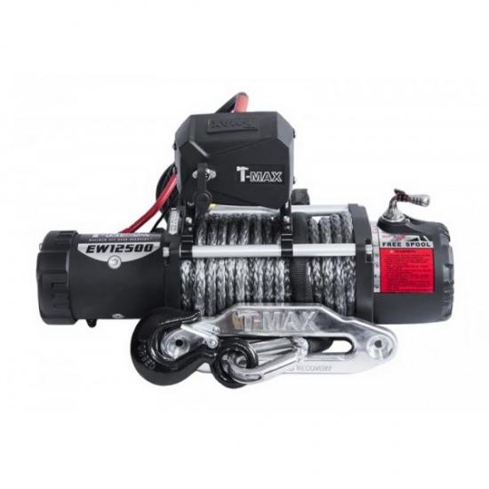 Elektrinė gervė (X-Power) 12V 4305kg (Sintetinis lynas)