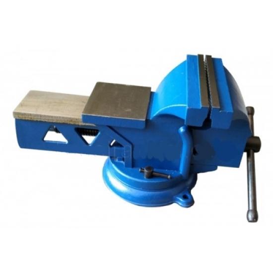 Spaustuvas plieninis šaltkalviškas pasukamas Lūpų plotis 200mm, 16.0kg