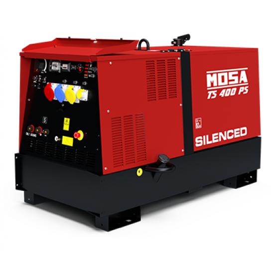 Dyzelinis generatorius-suvirintojas MOSA TS 400 PS/BC 20.3 kW 1500 aps/min