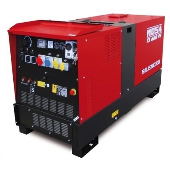 Dyzelinis generatorius-suvirintojas MOSA TS 600 PS/BC 45.6 kW 1500 aps/min