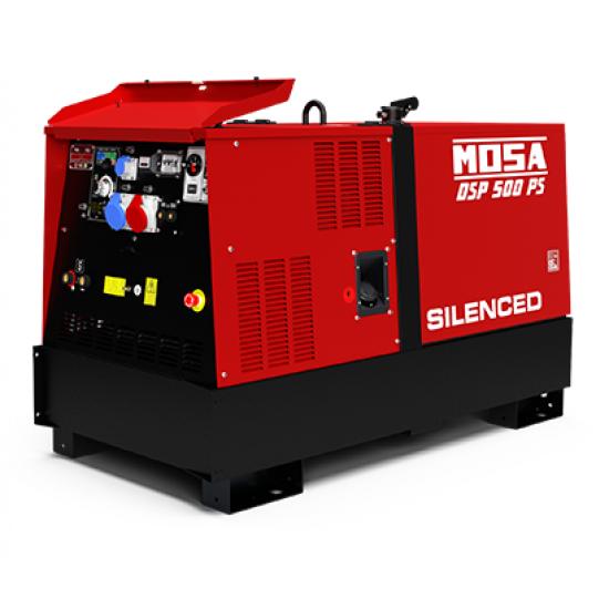 Dyzelinis generatorius-suvirintojas MOSA DSP 500 PS 20.3 kW 1500 aps/min