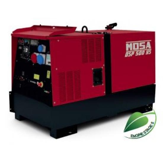 Dyzelinis generatorius-suvirintojas MOSA DSP 500 YS 18 kW 1500 aps/min
