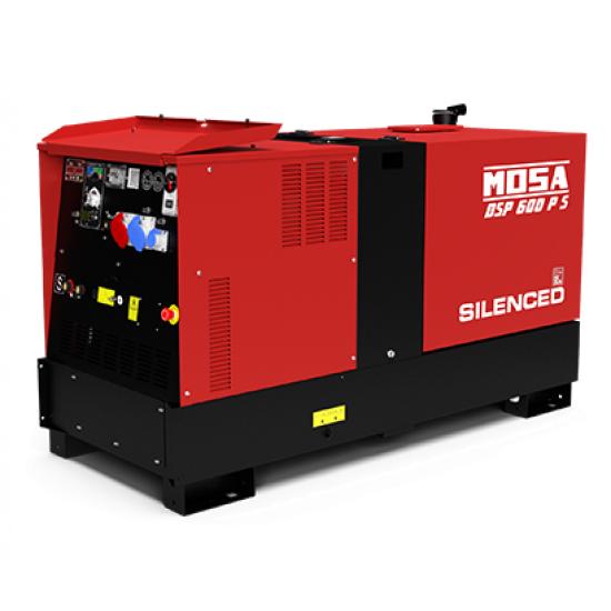 Dyzelinis generatorius-suvirintojas MOSA DSP 600 PS 30.4 kW 1500 aps/min
