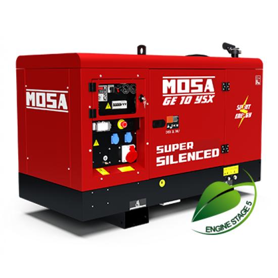 Dyzelinis generatorius MOSA GE 10 YSX 9 kW 1500 aps/min