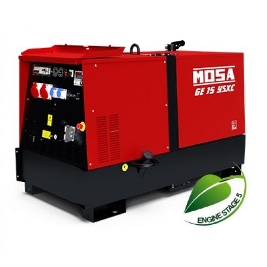 Dyzelinis generatorius MOSA GE 15 YSXC 13.6 kW 1500 aps/min