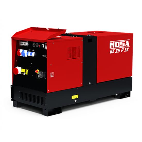 Dyzelinis generatorius MOSA GE 35 PSX 30.4 kW 1500 aps/min