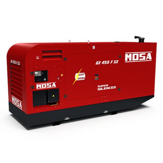 Dyzelinis generatorius MOSA GE 455 FSX 377/352 kW 1500 aps/min