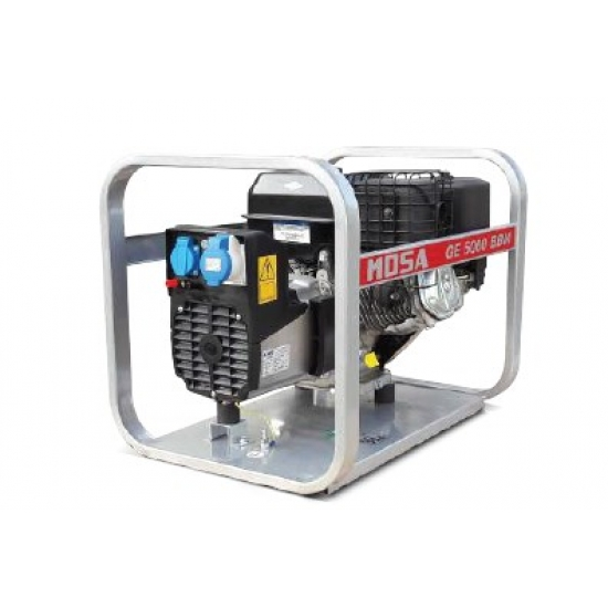 Benzininis generatorius MOSA GE 5000 BBM 6.5 kW 3000 aps/min