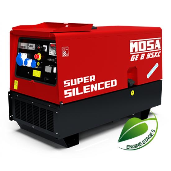 Dyzelinis generatorius MOSA GE 8 YSXC 9 kW 1500 aps/min