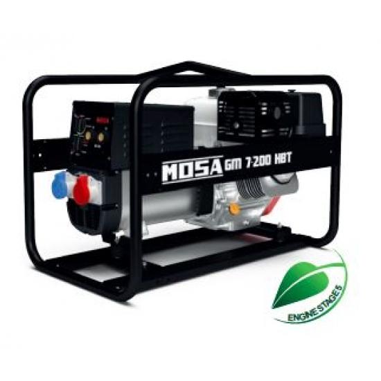 Benzininis generatorius MOSA GM 7-200 HBT 8.2 kW 3000 aps/min
