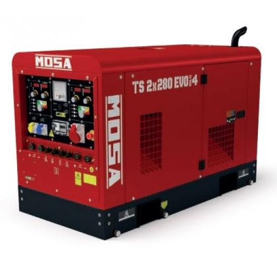 Dyzelinis generatorius-suvirintojas MOSA TS 2x280 EVO MULTI4 25.5 kW 3000 aps/min
