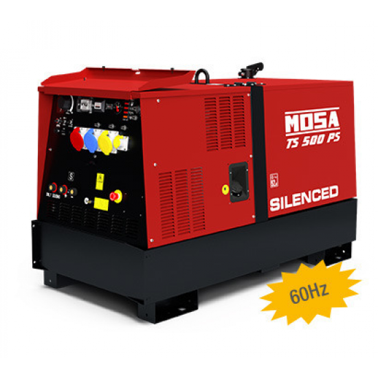 Dyzelinis generatorius-suvirintojas MOSA TS 500 PS / BC 22.6 kW 1800 aps/min