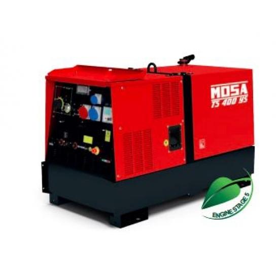 Dyzelinis generatorius-suvirintojas MOSA TS 400 YS 18 kW 1500 aps/min