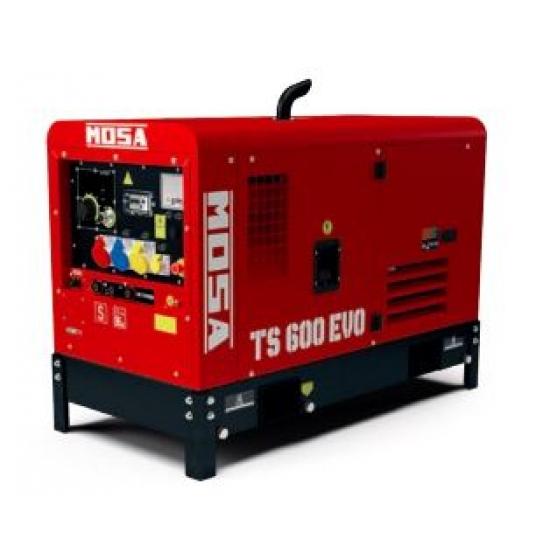 Dyzelinis generatorius-suvirintojas MOSA TS 600 EVO 27.7/ 32.8 kW 1500 aps/min
