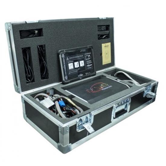 Elektrinių vairo stiprintuvo sistemų, vairo kolonėlių, siurblių ir velenų diagnostikos valdiklis MSG Equipment MS561