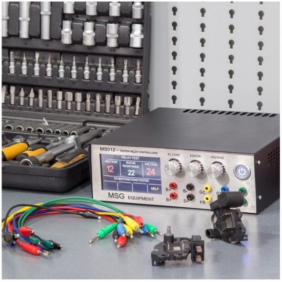Įtampos reguliatorių testeris MSG Equipment MS012 COM