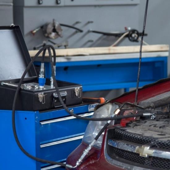Vairo stiprintuvo sistemos testeris MSG Equipment MS611