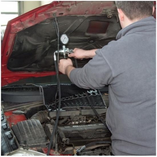 Vairo stiprintuvo sistemos testeris MSG Equipment MS610