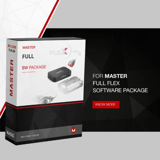 Automobilių konfigūratoriaus Flex pilnas Master paketas