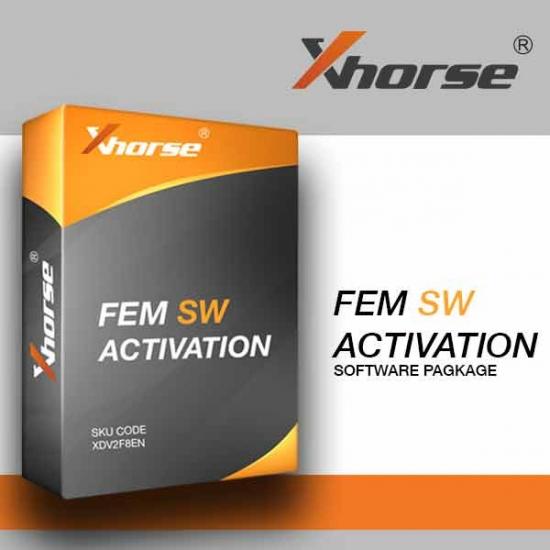 BMW FEM/BDC aktyvacija naudoti VVDI2 Xhorse