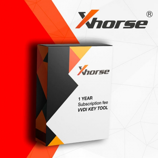VVDI Key 1 metų prenumerata Xhorse