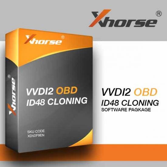 VVDI2 OBD autorizacija ID48 klonavimui Xhorse