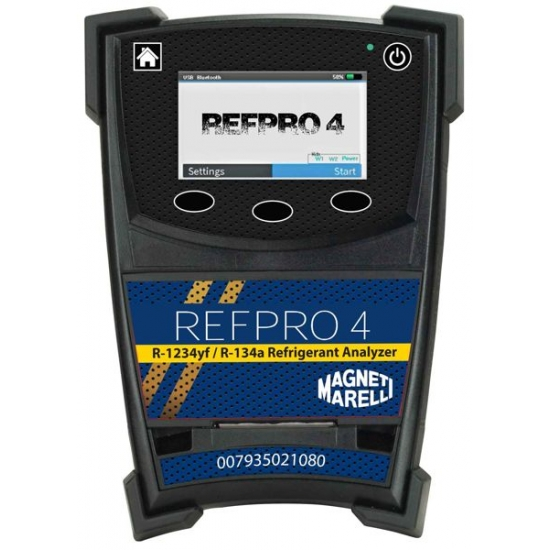 Magneti Marelli RefPro 4 Basic Factor freono identifikatorius ir analizatorius (R134a, 1234yf)