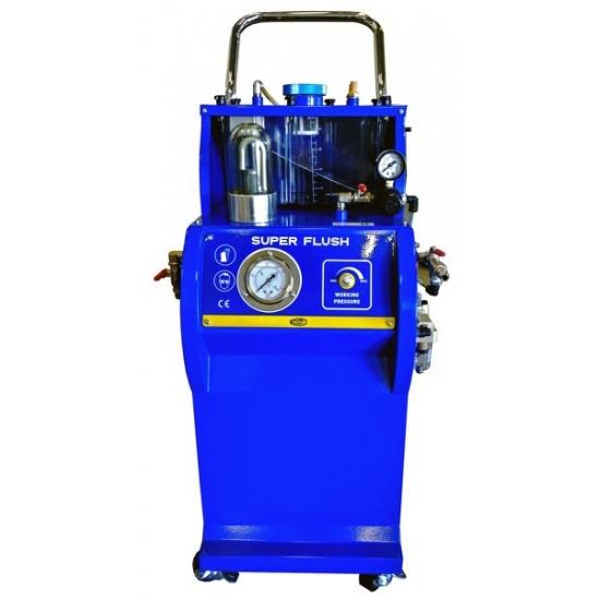 Pneumatinė automobilių kondicionavimo sistemos plovimo įranga Magneti Marelli Super Flush