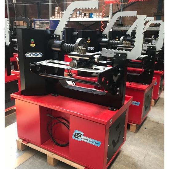 Wheel ironing and turning machine Monatech Tech 28 Pro
