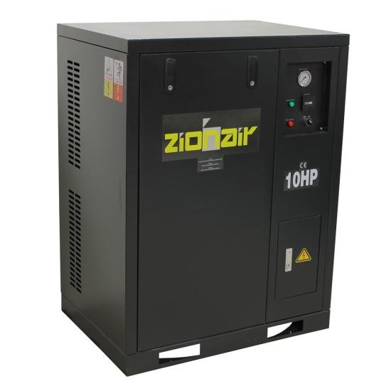 "Oro kompresorius tylus ""Zion Air"" 5,5Kw ir 8Bar"