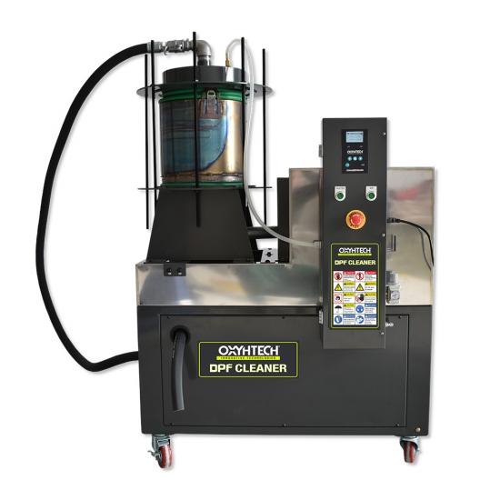 DPF Filtro valymo įranga Oxyhtech DPF cleaner plius