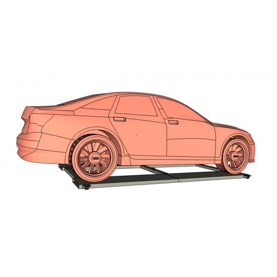 Pasukama automobilių platforma int-turn-platform