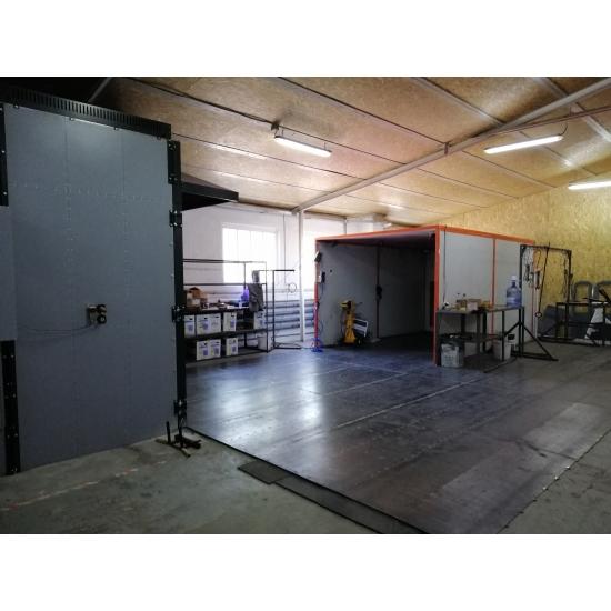 Miltelinio dažymo kabina Pavalex 7000x3500x3000 mm