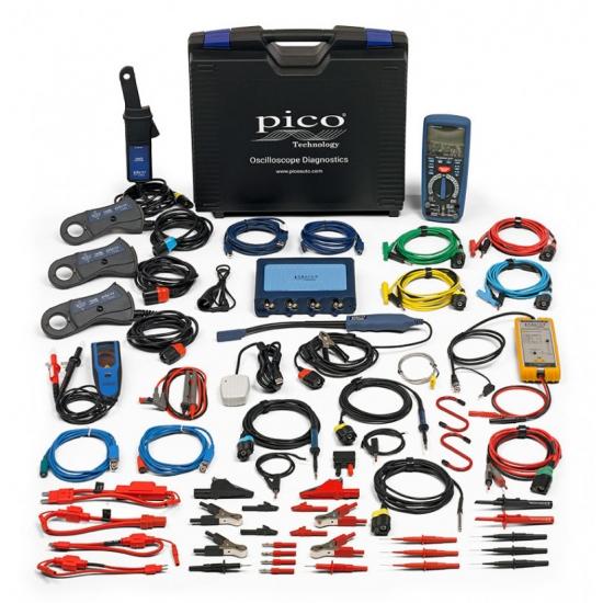 Elekromobilių testavimo ir diagnostikos rinkinys PicoScope 4425A su PicoBNC+®