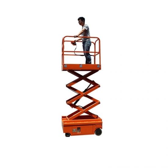 Mini bokštelinis žirklinis keltuvas iki 5.9 metro