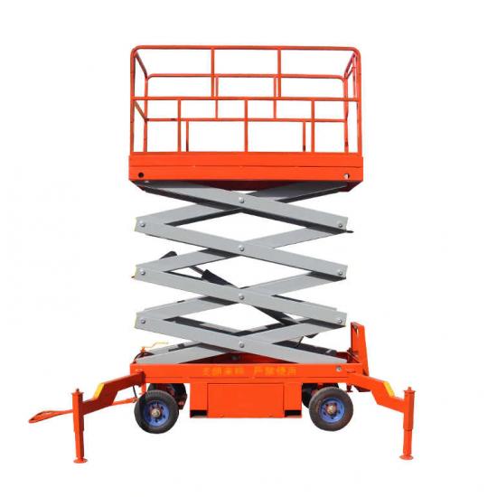Akumuliatorinis mobilus žirklinis keltuvas 4 - 18 metrų