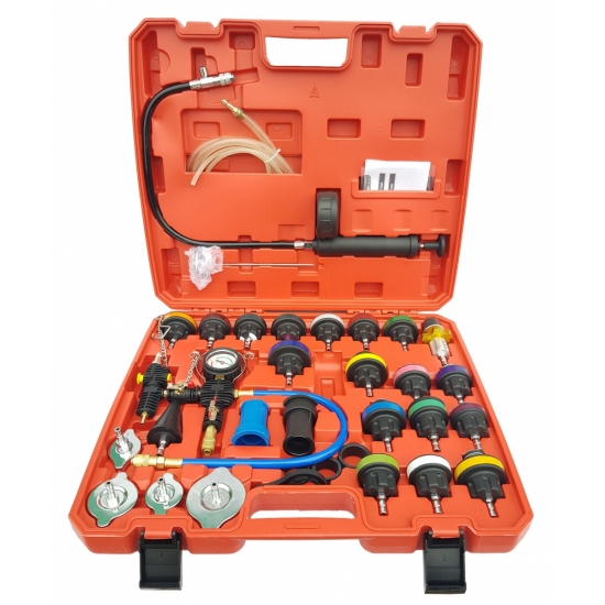 Radiator pressure and cooling system tester 34 pcs.
