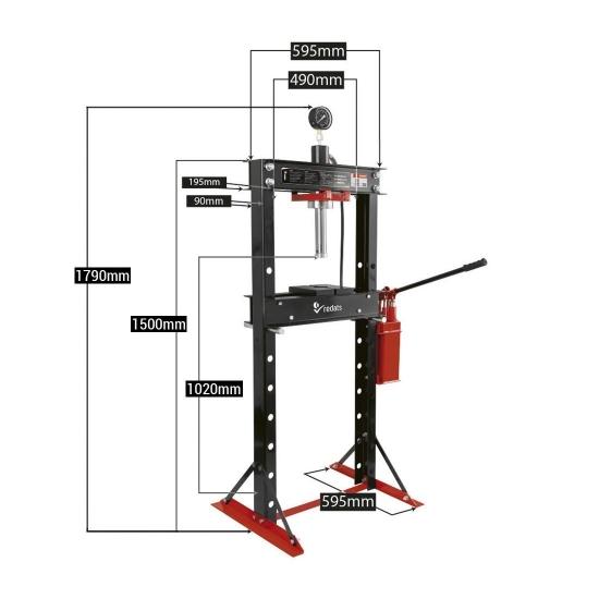 Hidraulinis presas 20 tonų H-370