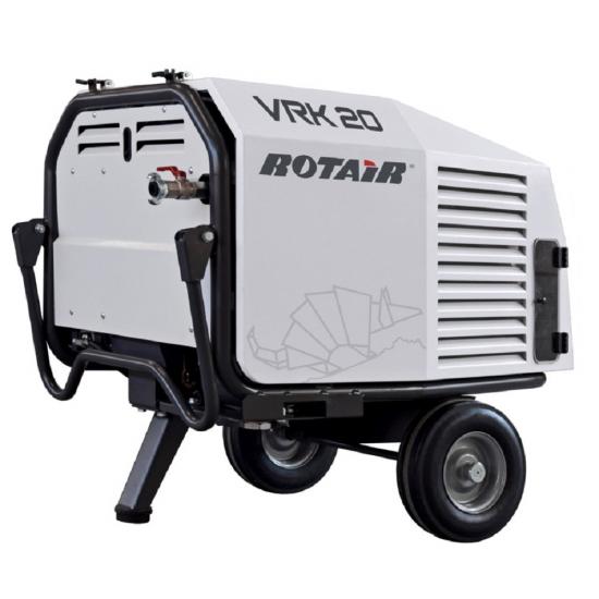 Mobilus benzininis oro kompresorius Rotair VRK 16