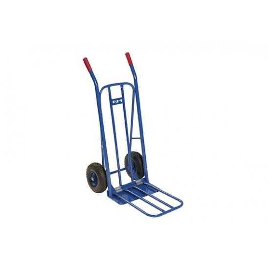 Sulankstomas krovinių vėžimėlis kietos gumos ratukais 250 kg NH Handling SVK250-R