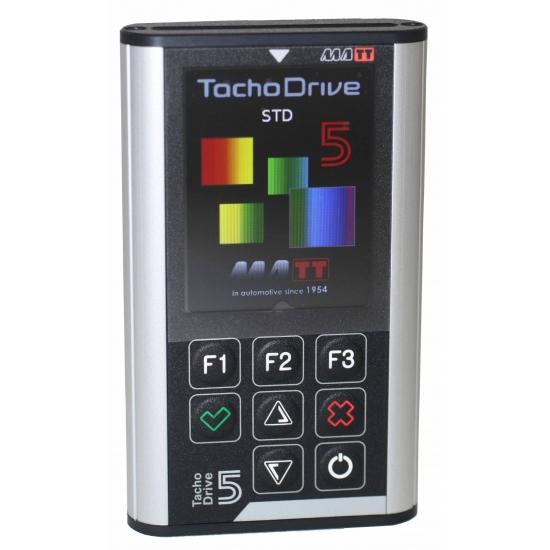 TachoDrive 5 - profesionalus tachografų ir vairuotojų kortelių skaitytuvas