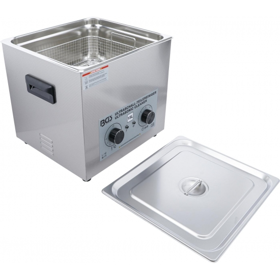 Ultrasonic bath for cleaning parts 15 l, BD-6881