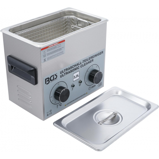 Ultrasonic bath for cleaning parts 3.2 l, BD-6879