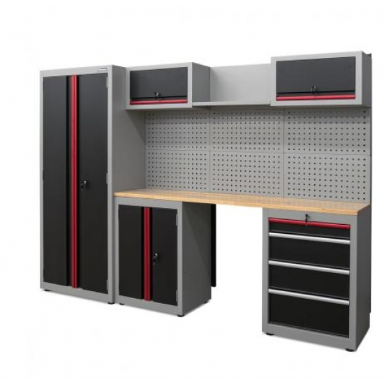 Набор шкафов для мастерской Weber, 13 деталей